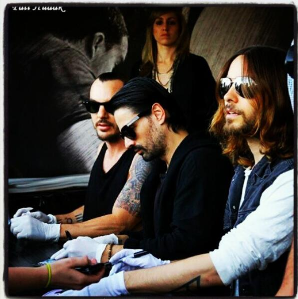 30 Seconds To Mars meet and greet