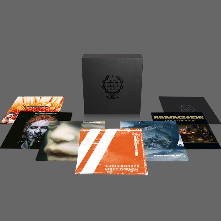 Rammstein anuncian una caja de vinilos para conmemorar su vigésimo primer aniversario