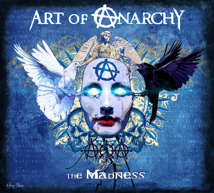 Art Of Anarchy desvelan portada y tracklist de su nuevo disco