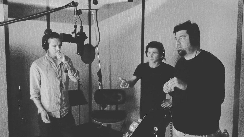 Skrillex y Chino Moreno en el estudio con Incubus