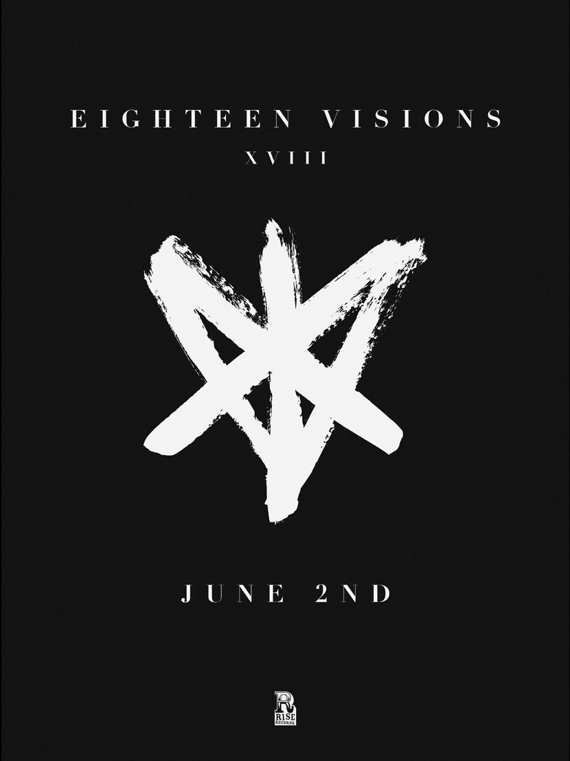 El nuevo disco de Eighteen Visions llegará el 2 de junio