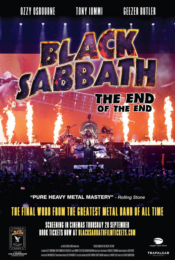 Black Sabbath anuncian su documental de despedida