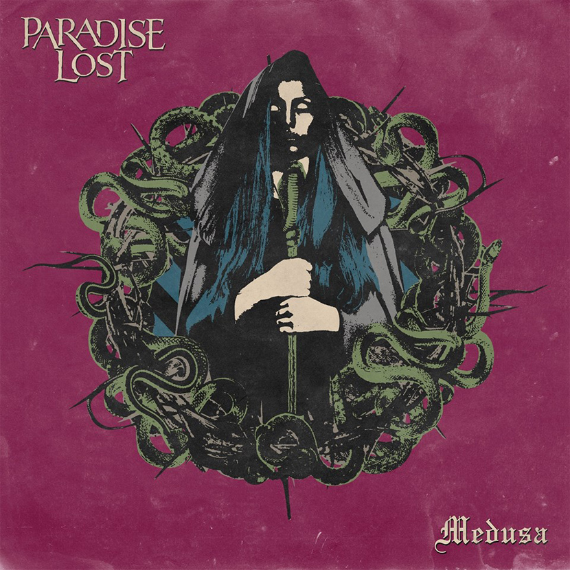 """Paradise Lost desvelan portada y fecha de publicación de """"Medusa"""""""