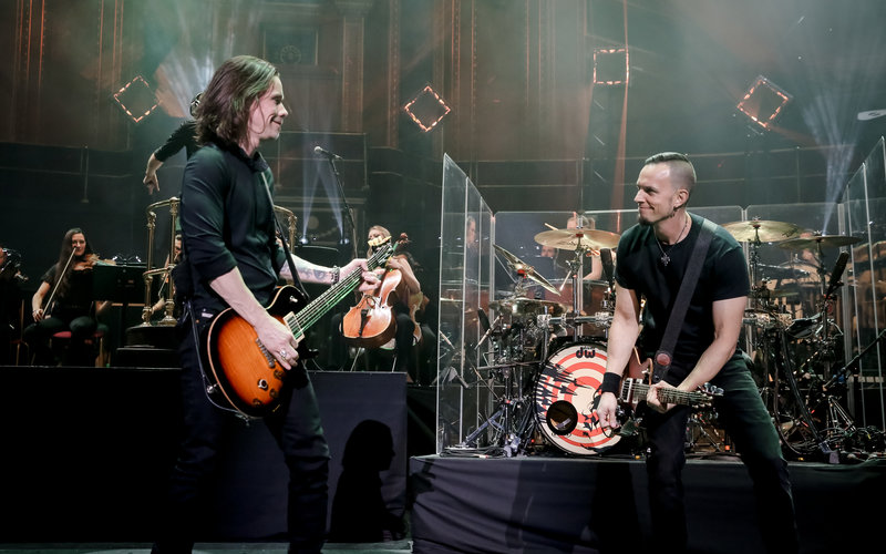 Alter Bridge avanzan un trailer de su nuevo disco en directo